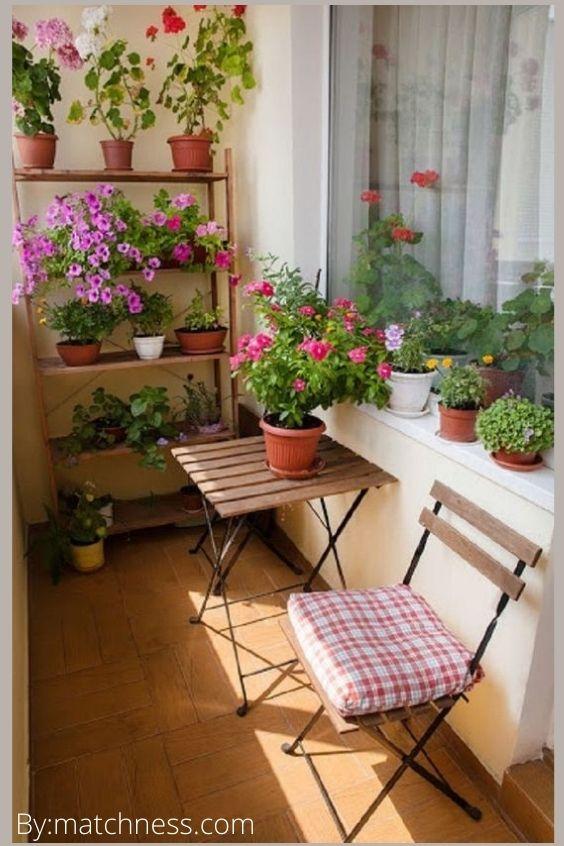 شرفتك هي حديقتك