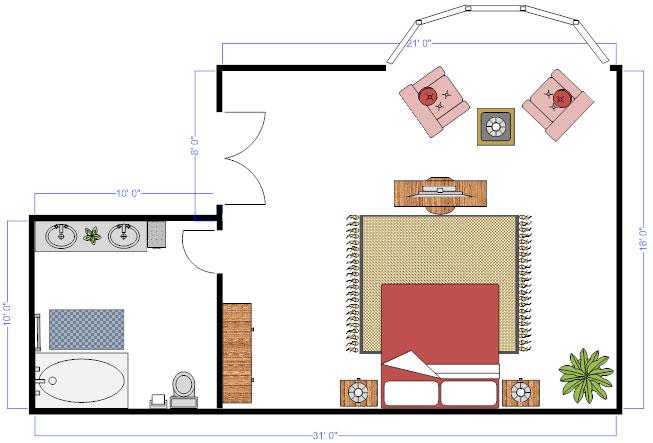 كيف اعمل مخطط منزل